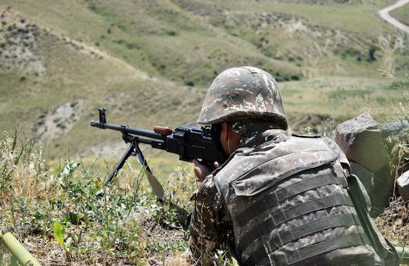 Azerbaijani Forces Fire at Artsakh Positions