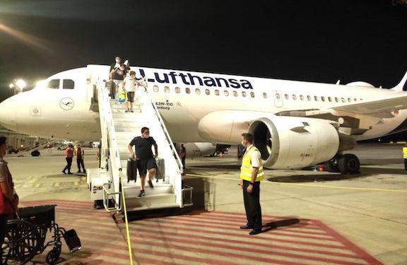 With Frankfurt-Yerevan Flight Lufthansa Returns to Armenia