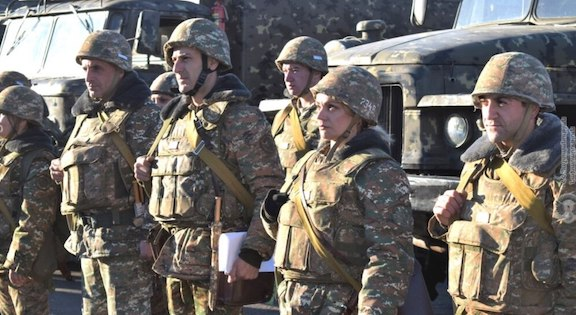 Reservists Drafted into Armenian Army