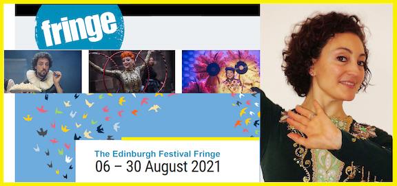 Armenian Circle Dance at 'Fringe' Edinburgh Festival