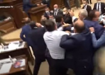Another Day of Brawls In Armenia's Parliament