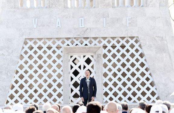 Aliyev Says Nagorno-Karabakh Republic Does Not Exist