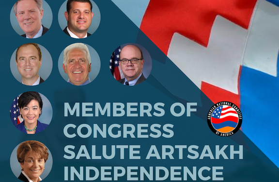 Congressional Leaders Stand in Solidarity with Artsakh on 30th Anniversary of Independence