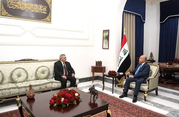 Iraq's President Highlights Need to Expand Ties with Armenia