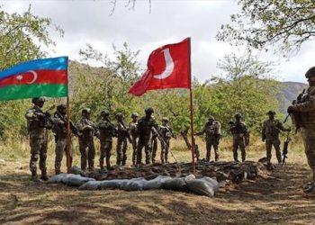 Turkey, Azerbaijan Conduct Military Drills in Lachin