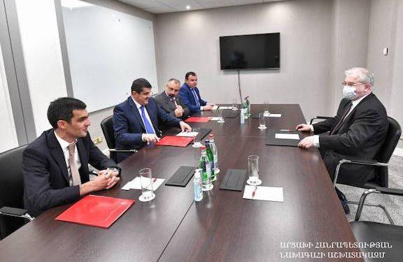 Artsakh President and Russian Minsk Group Co-Chair Meet