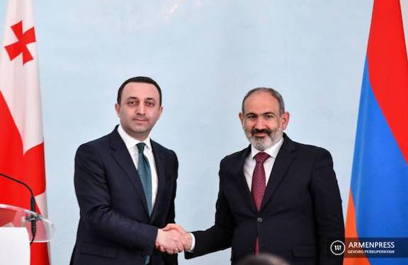 Pashinyan Wants Georgia to Embrace his 'Regional Peace and Stability' Agenda