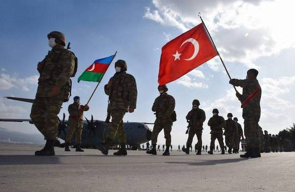 Turkey Sets Up Military Command Center in Baku