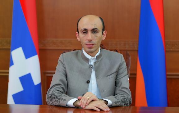 Artsakh State Minister Artak Beglaryan Guest Speaker at AMAA's Banquet in Fresno